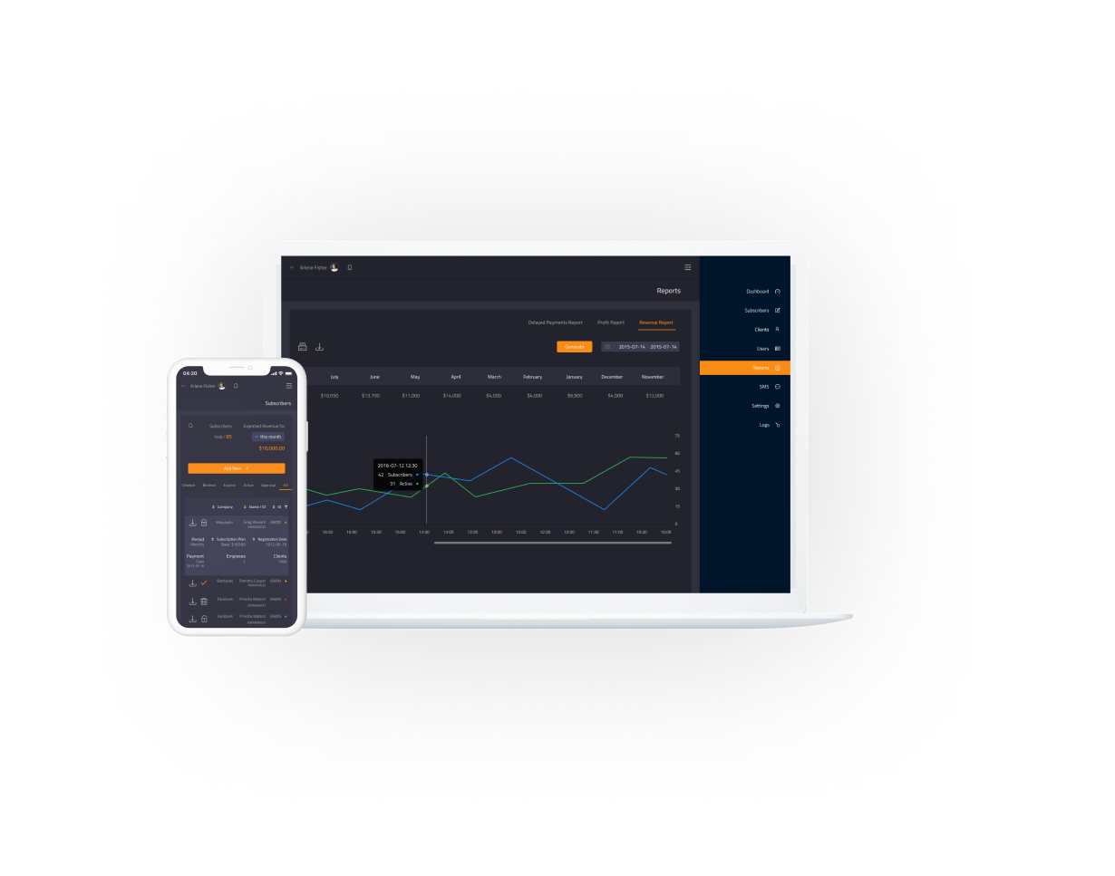 Multi-Currency SaaS Lending Service with RTL UI Design