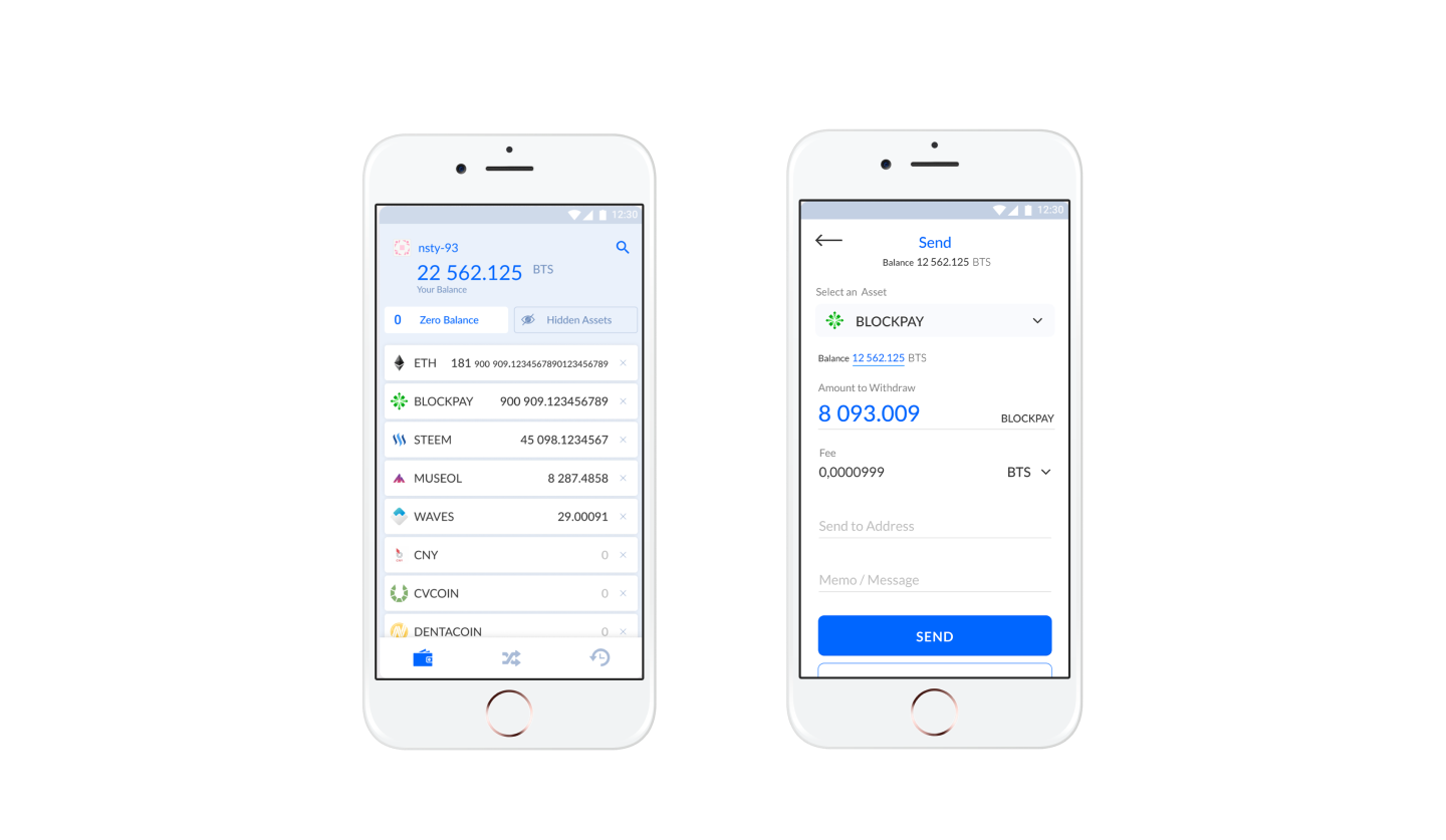 Multi-Currency Crypto Wallet for Android & iOS