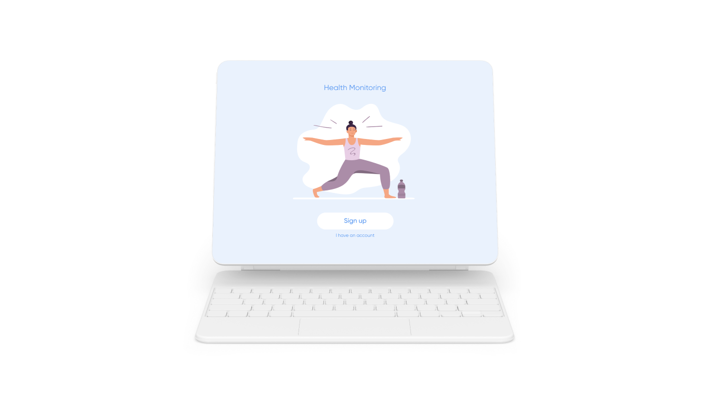 Fitness Tracking & Live Workout Streaming iPad App
